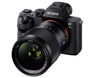 Sony a7s II, mirrorless Full Frame